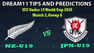 NZ-U19 vs JPN-U19 Dream11 Team Prediction Under 19 World Cup 2020