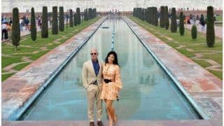 Jeff Bezos and Girlfriend Lauren Sanchez Pose In Front of the Iconic Taj Mahal, See Pictures
