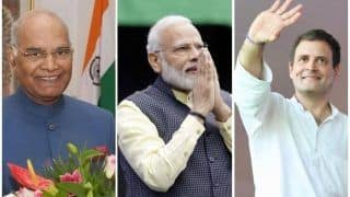 'Welcome 2020': PM Modi, President Kovind and Other Leaders Extend New Year Wishes to Citizens