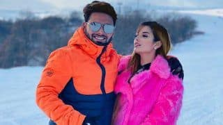 Rishabh Pant And Girlfirend Isha Negi Set Couple Goals With New Year PDA in Snow-Capped Mountains | SEE PICS