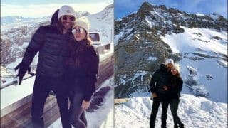 Varun Dhawan-Natasha Dalal Prove Love Melts All Frozen Hearts, Wish Fans on New Year 2020 From Swiss Alps