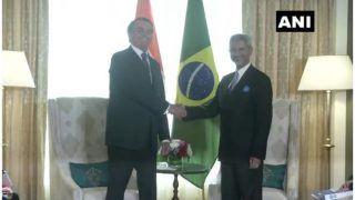 विदेश मंत्री जयशंकर ने ब्राजील के राष्ट्रपति से की मुलाकात, व्यापार एवं निवेश सहित विभिन्न मुद्दे पर हुई चर्चा