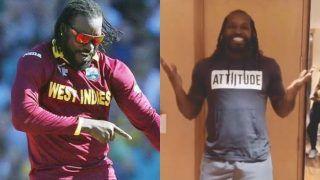 WATCH: विंडीज दिग्गज क्रिस गेल ने शुरू की Tik Tok पर नई पारी, वीडियो पोस्ट करते ही हो गए इतनेफॉलोअर्स