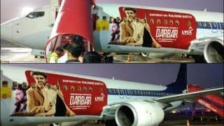 Darbar Aircraft: Rajinikanth's Cop Thriller Becomes Superstar's Second Film to Get Featured on Plan | Check Pictures Inside