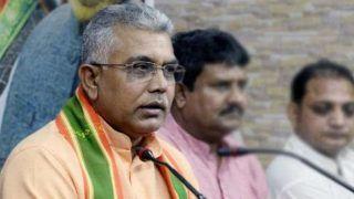 भाजपा अध्यक्ष दिलीप घोष का चौंकाने वाला बयान, कहा-शाहीन बाग में कोई प्रदर्शनकारी मर क्यों नहीं रहा है?