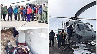 वायुसेना ने 'चादर ट्रेक' के दौरान लद्दाख में फंसे 107 लोगों को बचाया