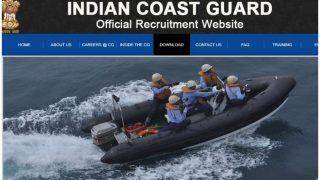 इंडियन कोस्ट गार्ड में 12वीं पास के लिए निकली वैकेंसी, यहां से करें आवेदन