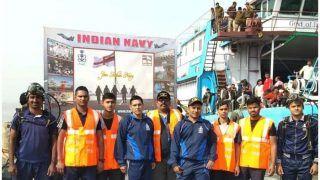 Gangasagar Mela: बचाव, राहत कार्यों के लिए तैनात किए गए भारतीय नौसेना के विशेष डाइविंग टीम