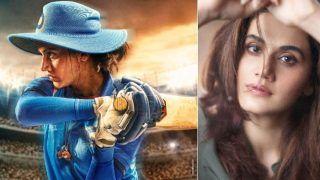 Shabaash Mithu First Look: टीम इंडिया की धांसू महिला क्रिकेट प्लेयरमिताली राज के किरदार में कहर ढा रही हैंतापसी पन्नू
