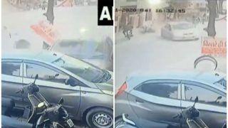 VIDEO: तूफान की तरह मुसीबत बन कर आई ये कार, सड़क पर कुछ ऐसे मचाया हड़कंप