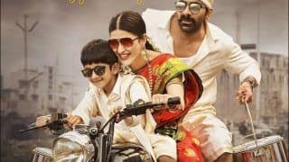 Krack: Shruti Haasan Looks Sensational Riding Royal Enfield in Saree, Jaw-Dropping Poster Goes Viral