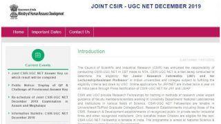 CSIR NET Result 2019: NTA आज जारी कर सकता है CSIR NET 2019 का रिजल्ट, ऐसे करें चेक