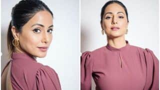 Hina Khan Puts The Fashion Police on High Alert With Her Hot Look in Backless Lilac Dress
