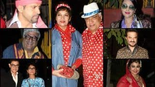 Shibani Dandekar-Aamir Khan-Swara Bhaskar-Anil Kapoor And Others Rock Javed Akhtar's Retro-Themed Birthday Party