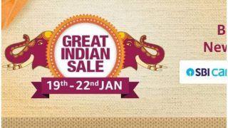 Amazon रविवार से शुरू कर रहा है Great Indian Sale 2020, मिलेगी कई बड़े प्रोडक्टों पर भारी छूट