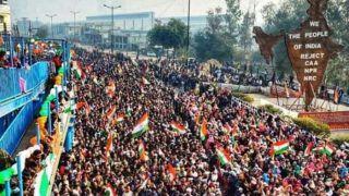 VIDEO: शाहीन बाग में कुछ इस तरह मनाया जा रहा है गणतंत्र दिवस, लोगों ने एक आवाज़ में लगाया ये नारा