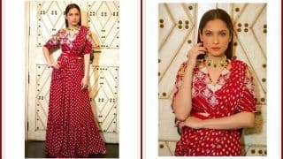Ankita Lokhande's Red Hot Saree-Skirt Look Will Instantly Give You Fashion High This Friday!