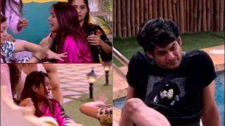 Bigg Boss 13: Shehnaz Gill Breaks Into Tears-Hits Herself After Siddharth Shukla Accuses Her of Being Jealous of Mahira Sharma