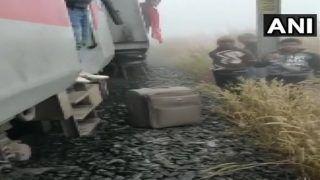 लोकमान्य तिलक एक्सप्रेस हुई हादसे का शिकार, आठ डिब्बे हुए डिरेल