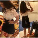 महेंद्र सिंह धोनी ने साक्षी को शॉपिग मॉल में पहनाई सैंडल, फैन्स ने लगाई तारीफों की झड़ी