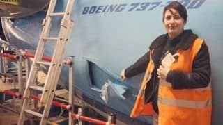 German Woman Announces She Will Marry A Plane, Claims They're Dating For 6 Years