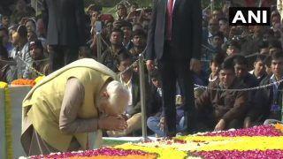 सशक्त न्यू इंडिया के लिए महात्मा गांधी के विचार हमेशा प्रेरित करते रहेंगे : पीएम मोदी