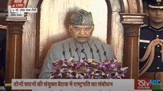 Citizenship Law Fulfilled Mahatma Gandhi's Dream | 5 Things President Said Ahead of Budget Session