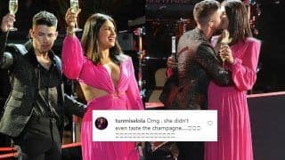 'Priyanka Chopra Pregnant'! Strong Rumours Emerge After PC Doesn't Drink Champagne With Nick Jonas in Viral Video