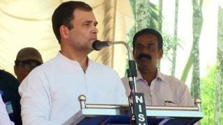 Narendra Modi & Nathuram Godse Believe in Same Ideology, Says Rahul Gandhi; Leads 'Save The Constitution' March in Wayanad