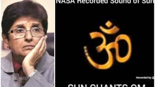 Kiran Bedi Thinks The Sun Actually Chants 'Om', People Ask 'Is This From WhatsApp University?'