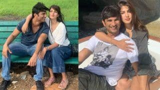 Sushant Singh Rajput Gets The Warmest Birthday Wish From Rumoured Girlfriend Rhea Chakraborty
