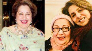 Raj Kapoor's Daughter And Shweta Bachchan Nanda's Mother-in-Law Ritu Nanda Passes Away Due to Cancer