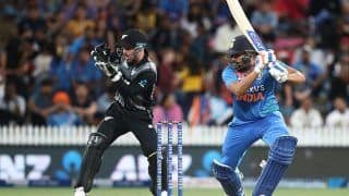 3rd T20I: Rohit Sharma Hits Fifty to Guide India to 179/5 Against New Zealand in Hamilton