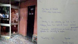 JNU हिंसाः प्रॉक्टर वीसी और रजिस्ट्रार ने LG से की मुलाकात, हॉस्टल वार्डन ने दिया इस्तीफा
