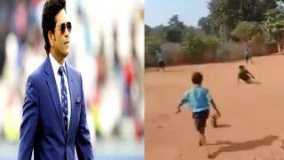 इस नन्हे दिव्यांग के खेल को देखकर पसीजा क्रिकेट के भगवान का दिल, शेयर किया VIDEO