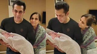 Salman Khan Holds Baby Ayat in Arms, Arpita Writes The Most Emotional Note For Dear Brother - Viral Photos