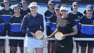 Did Not Expect It, Was Pleasantly Surprised: Sania Mirza on Winning Doubles Title On Comeback