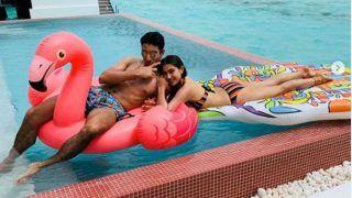 Sara Ali Khan And Ibrahim Ali Khan Share a Vacay Moment In The Pool at Maldives
