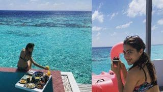 Bikini, Blues And Cupcakes! Sara Ali Khan's Photos From The Maldives Prove Her New Year Was Better Than Yours