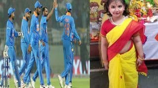 Mohammad shami share a photo of his daughter writes beta love you so much and see you soon 3927191