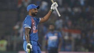 Dhawan Not Thinking About Three-Way Competition For Opening Slot in India Limited-Overs Squads