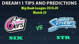 SIX vs STR Dream11 Team Prediction Big Bash League 2019-20