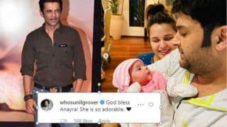 Here's How Sunil Grover Reacted After Seeing Kapil Sharma's Daughter Anayra Sharma