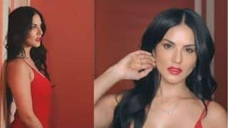 Sunny Leone's Sultry Video in This Red Dress Will Wash Away Your Blues