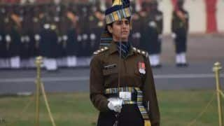 Watch | Capt Tania Shergill Leads All-Men Contingent at R-Day Parade, Netizens Hail Girl Power