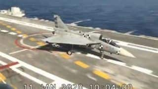 Major Milestone in Defence: First Made-in-India Tejas Jet Lands on Aircraft Carrier