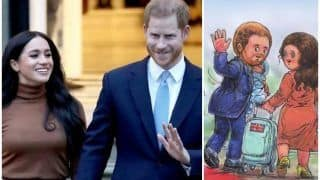 Amul Has A 'Punny' Take on Prince Harry & Meghan Markle's Royal Exit, Check the Cartoon Here