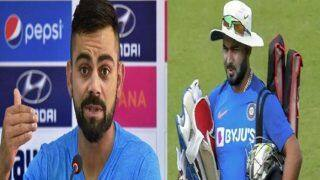 Virat kohali gave hint now rishabh pants chances in indian team are over 3915628