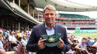 Shane Warne Puts His Baggy Green Up For Auction To Raise Funds For Bushfire Victims