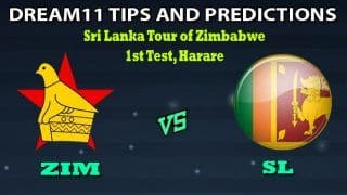 ZIM VS SL Dream11 Team Prediction: Captain And Vice-Captain, Fantasy Cricket Tips Zimbabwe vs Sri Lanka 1st Test at Harare Sports Club, Harare 1:30 PM IST